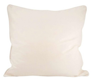 Ivory Chambray 24 x 24 Pillow