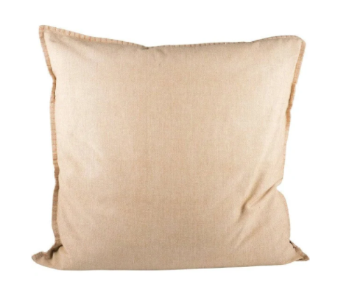 Sand Chambray Pillow 24x24