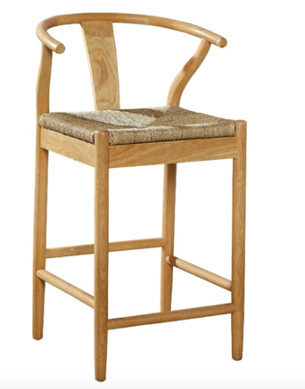 Broom Stick Counter Stool