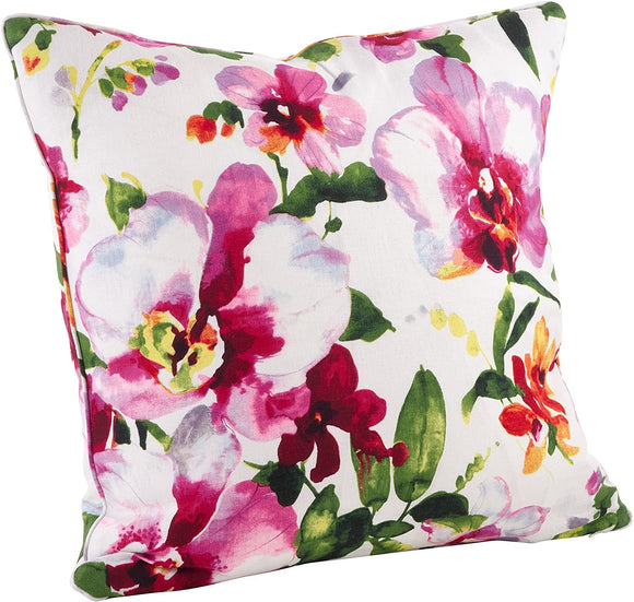Printed Floral Pillow 1619