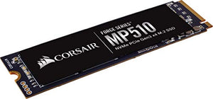 CORSAIR Force MP510 480 GB NVMe PCIe Gen3 x4 M.2-SSD  Up to 3 480 Mo/s