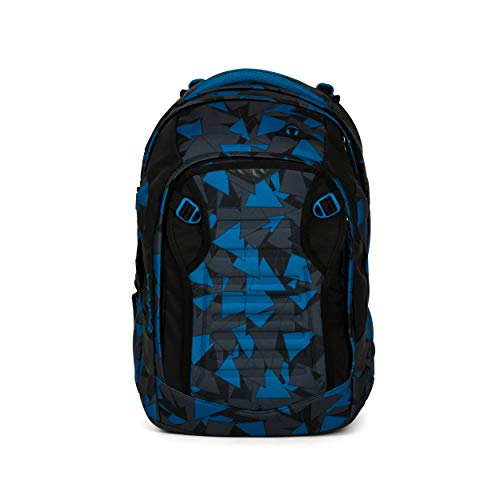 SATCH BACKPACK Sac à dos enfants  45 cm  30 liters  Multicolore (Blue Triangles)