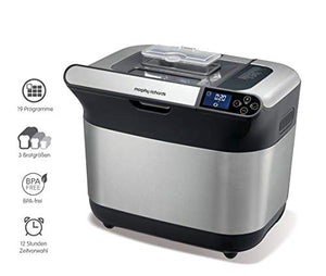 Morphy richards machine a pain refresh premim plus m502000ee - 600w - 19 programmes - départ différé 12h