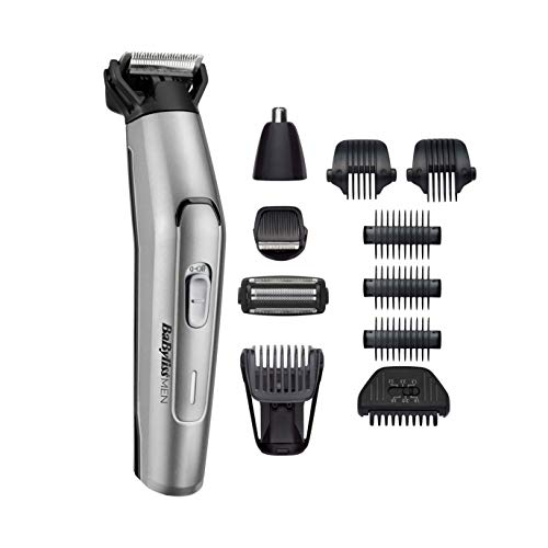 BaBylissMEN - MT861E - Tondeuse Multi-usages 11 en 1 Titanium