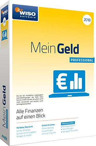 WISO Mein Geld Professional 2018/CD-ROM