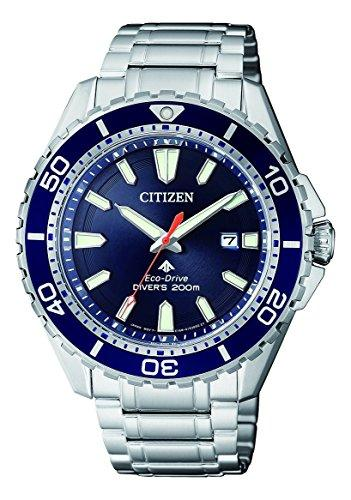 Citizen Mens Analogue Solar Powered Watch with Stainless Steel Strap BN0191-80L