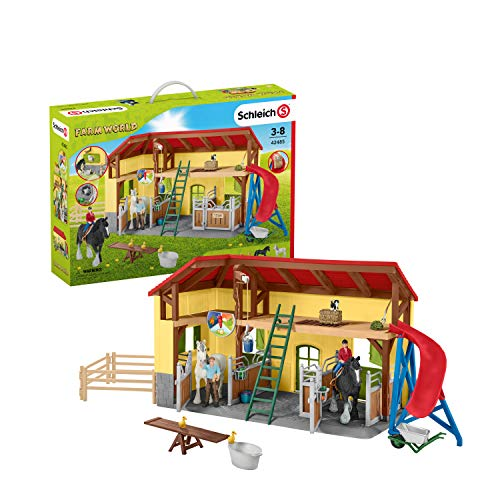 Schleich Farm World Playset Écurie  42485  Multicolore