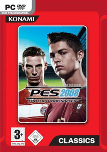 Pro Evolution Soccer 2008 Classic (PES 2008) [import allemand]