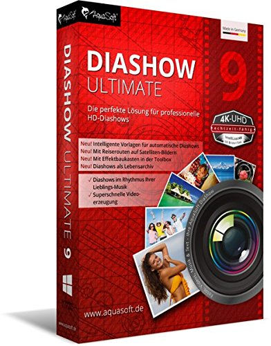 AquaSoft DiaShow 9 Ultimate [import allemand]