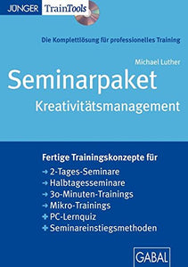 Seminarpaket Kreativitätsmanagement [import allemand]