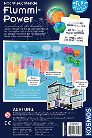 Fun Science Nachtleuchtende Flummi-Power: Experimentierkasten