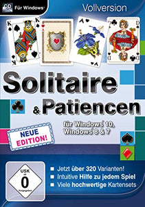 Solitaire & Patiencen für Windows 10 Neue Edition. Für Windows 7/8/10