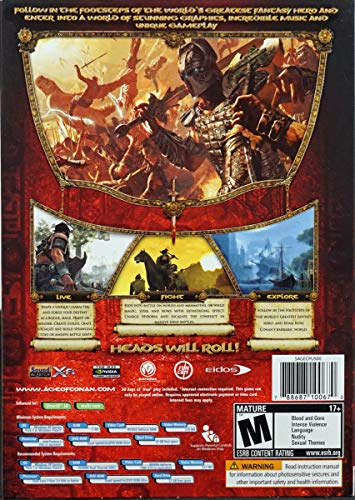 Age of Conan Hyborian Adventures - uncut (Import anglais)