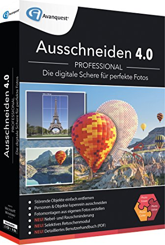 Avanquest Software ESD Ausschneiden 4.0 Professional - Software - German