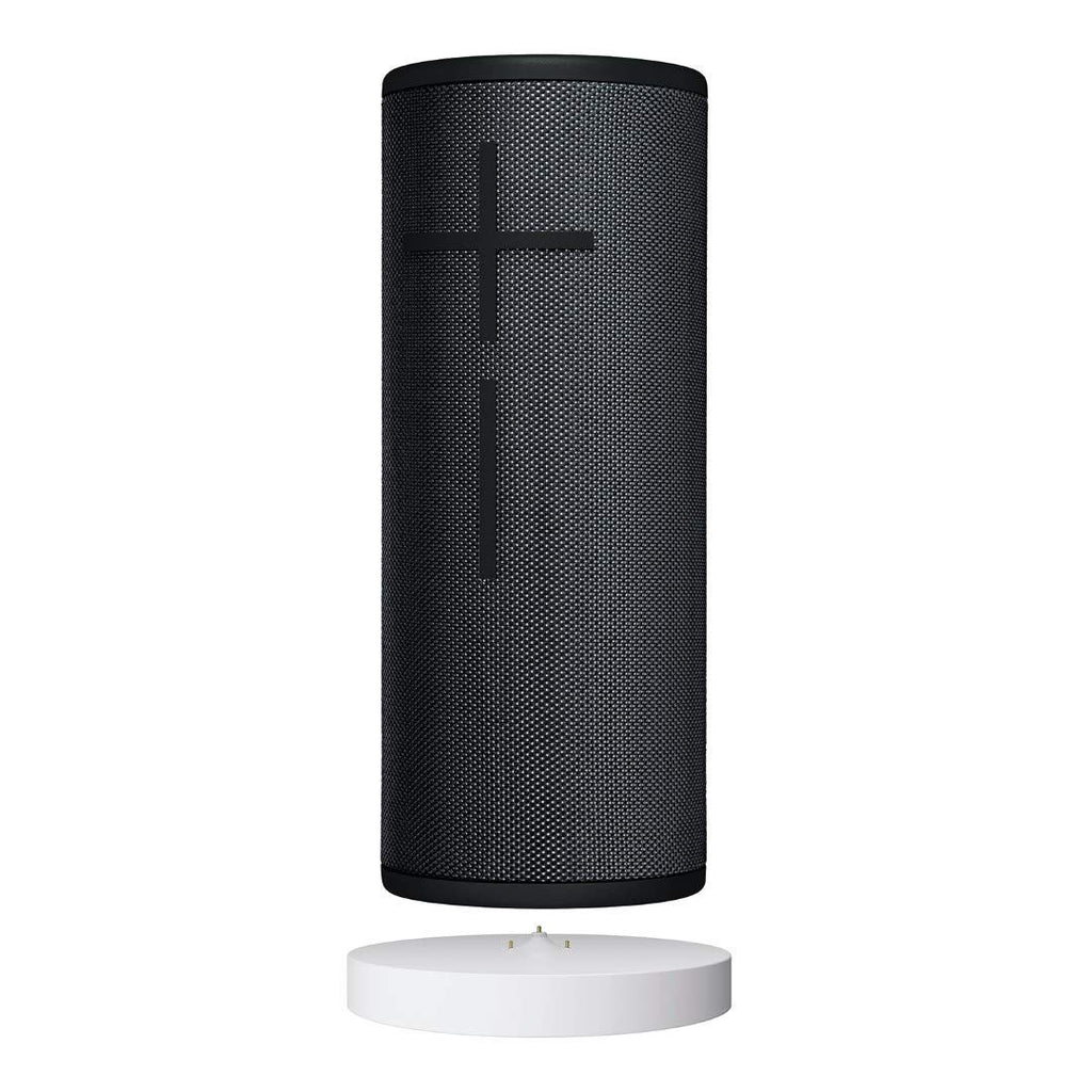 Ultimate Ears Boom 3 Enceinte Portable Bluetooth sans Fil + Socle de Chargement Power Up  Basses Profondes  Etanche  Flottante  Connexion Multiple  B