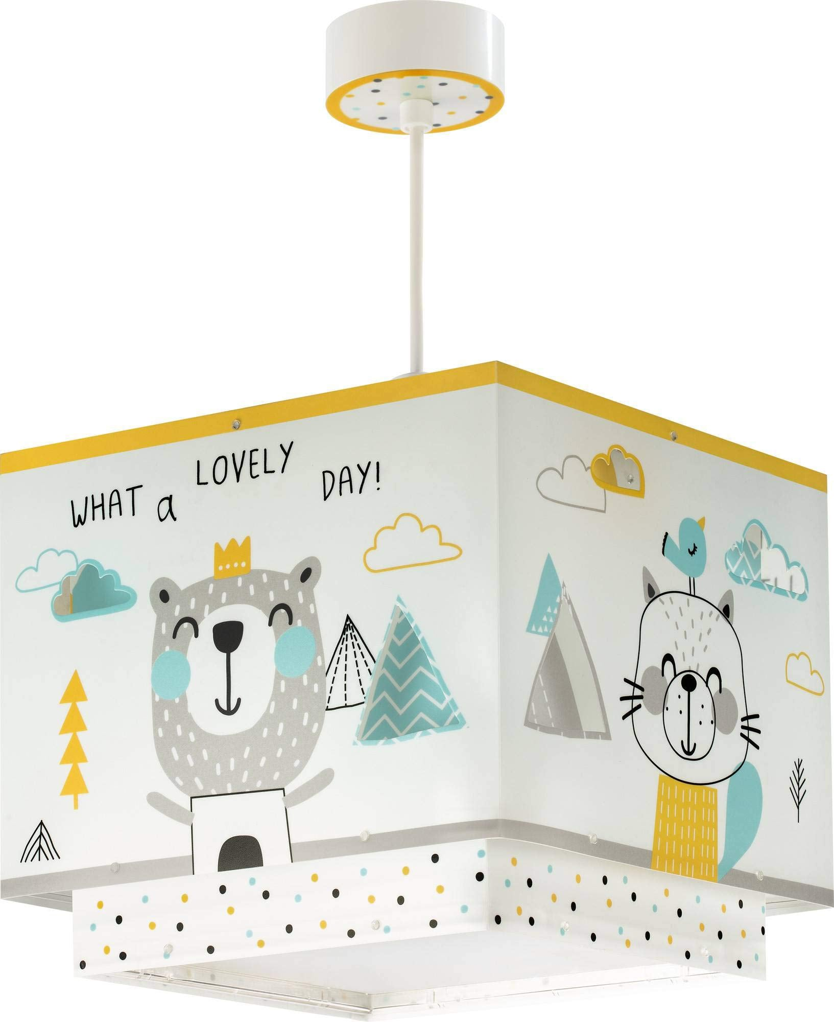 Dalber lampe suspension enfant Hello Little Animaux
