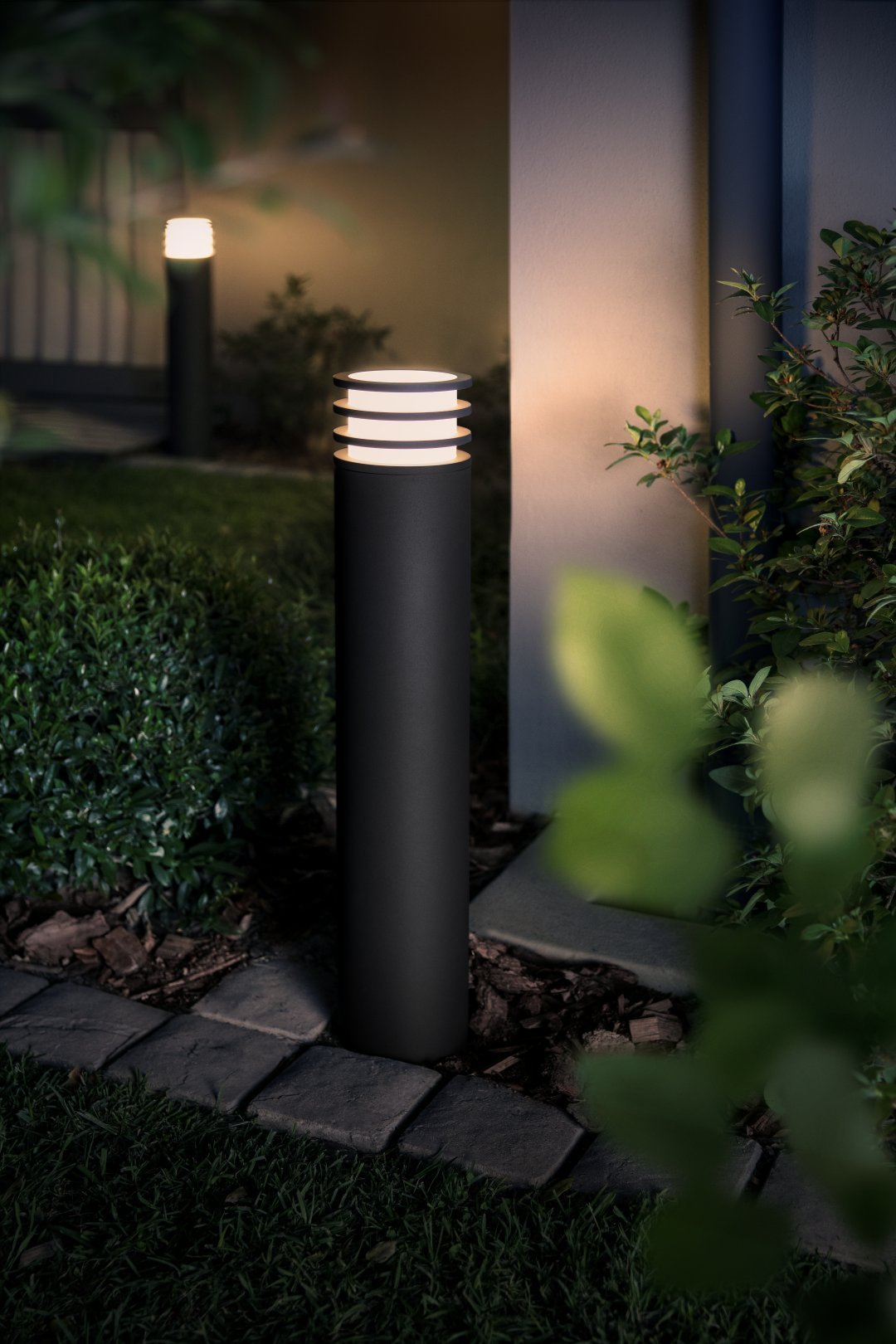 Philips Hue White LUCCA Potelet 1 X 9 5 W - Anthracite