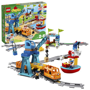 LEGO DUPLO - Le train de marchandises  - 10875 - Jeu de Construction