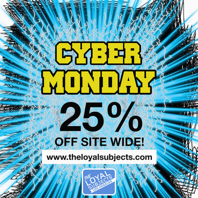 Cyber Monday: 25% off everything (Dec 1st)