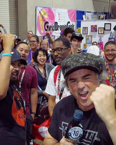 TLS at Comic Con, Part I - Inside the Booth!