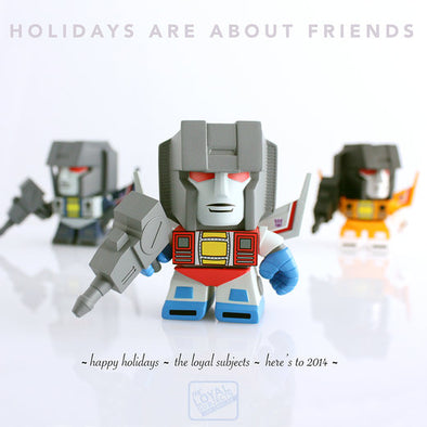 HOLIDAYS ARE ABOUT FRIENDS