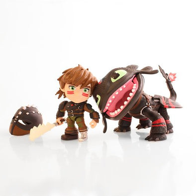 Update! Black Friday Racing Stripes Toothless and Hiccup!
