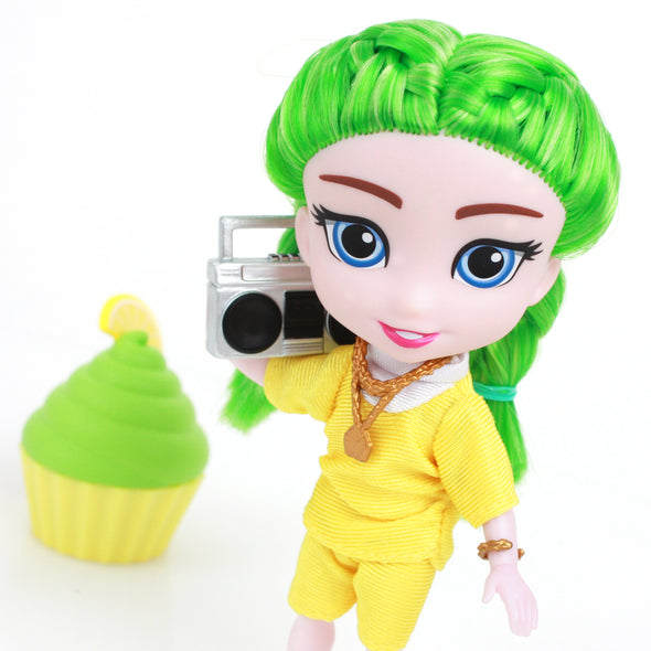 PRE-ORDER!! - Ella - For Keeps™ Girl with Cupcake Keepsake™ Series 1