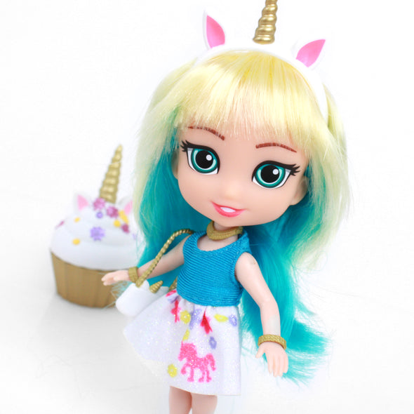 PRE-ORDER!! - Emma - For Keeps™ Girl with Cupcake Keepsake™ Series 1