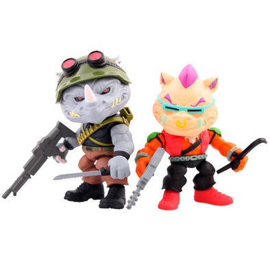 Teenage Mutant Ninja Turtles - Bebop + Rocksteady Toy Color Variant (SDCC Edition)