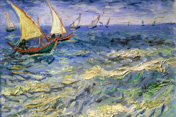 Van Gogh Seascape Saintes-Maries