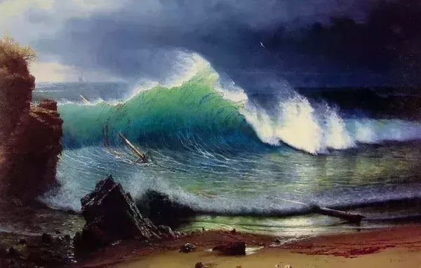 Albert Bierstadt Sea Wave