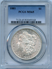 1881 PCGS MS65 Morgan Silver $1