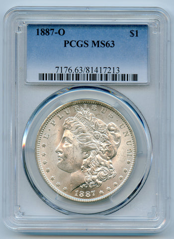 1887-O PCGS MS63 Morgan Silver $1