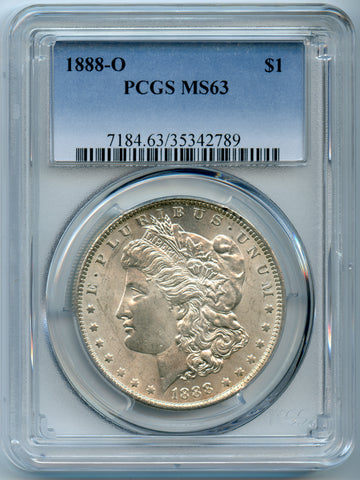 1888-O PCGS MS63 Morgan Silver $1