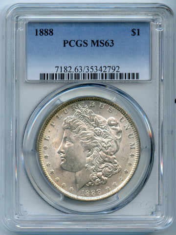 1888 PCGS MS64 Morgan Silver $1