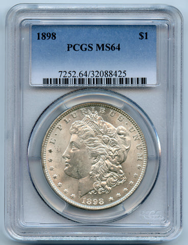 1898-P PCGS MS64 Morgan Silver $1