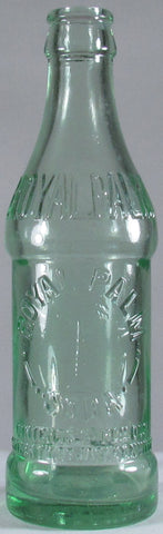 "Circa 1925 ""Royal Palm Soda Contents 6 Fl. Oz., Property Of Jacksonville Coca-Cola Bottling Co. (Embossed Palm Tree)."""