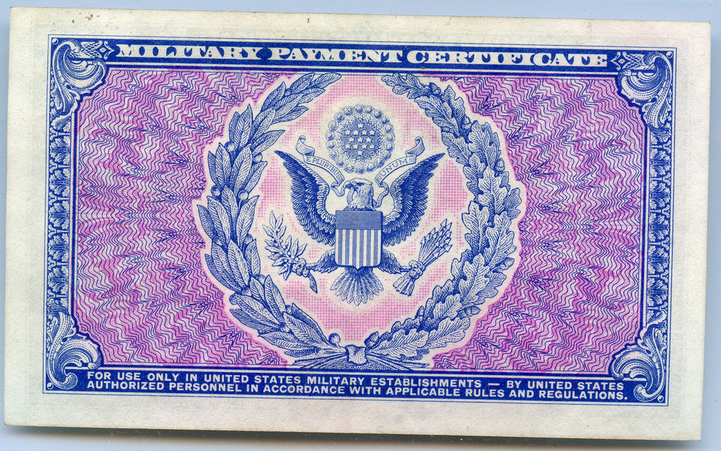 Genuine Series 481 1951 54 100 Military Payment Certificate Xf