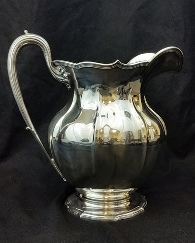 Dominick and Haff Sterling Silver Water Pitcher