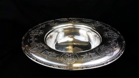 Vintage Black Starr and Frost Footed Bowl