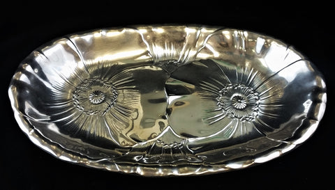 Estate Sterling Silver Bread Tray by Wallace