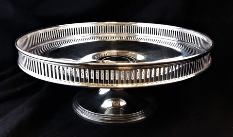 Estate Tiffany and Co. Sterling Silver Pierced Sweets Dish