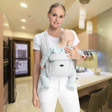 Cotton Ergonomic Baby Carrier Backpack - TodStar