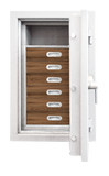 "Luxury Safes - SÜPERB ""M""  with digital lock and 6 drawers lined with micro fabric (Size: H  100.6  x  W  63.6  x  D 57.0 cm) - Hartmann Tresore Online Shop"