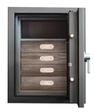 "Luxury Safes - SÜPERB ""S"" with digital lock and 4 drawers lined with micro fabric (Size: H  80.6  x  W  63.6  x  D 57.0 cm) - Hartmann Tresore Online Shop"