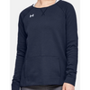 Under Amour Women's Hustle Fleece Crew (2 Colors Available)