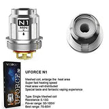 VooPoo UForce Coils (Pack of 5 replacement coils)  Stock up on your VooPoo UForce coils right here. We have got all the variations of Uforce coils including the N1 0.13 Ohm, N2 0.3 Ohm, N3 0.2 Ohm, U2 0.4 Ohm and U4 0.23 Ohm editions.