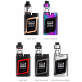 SMOK RHA85 Kit 85W (formerly SMOK AL85 Kit) is the compact revolutionary system inspired by the widely acclaimed Alien 220W. RHA85 Kit consists of RHA85 mod and TFV8 Baby tank featuring delicate design, smooth streamline and integrated functional buttons to present a stunning combination of elegant miniaturized designs with ample performance.
