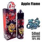 Apple Flame by Mr Juicer E Liquid will make you taste a real apple vape.