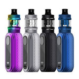 "Aspire now brings you a great new ""mini' kit. Introducing a flexible, easy to operate and very portable kit, The Reax Mini. It comes supplied with the latest Tigon tank for convenience and ease of use, with just a few clicks of a button to change the six pre-set wattage options."